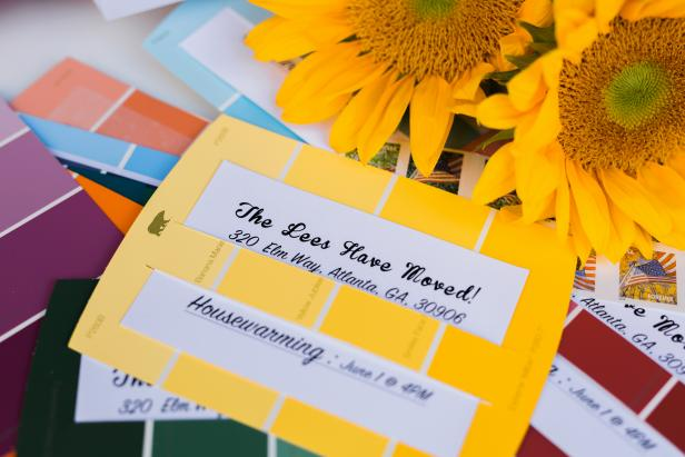 How to Make an Invitation Using Paint Chips 10 Tips for Easy