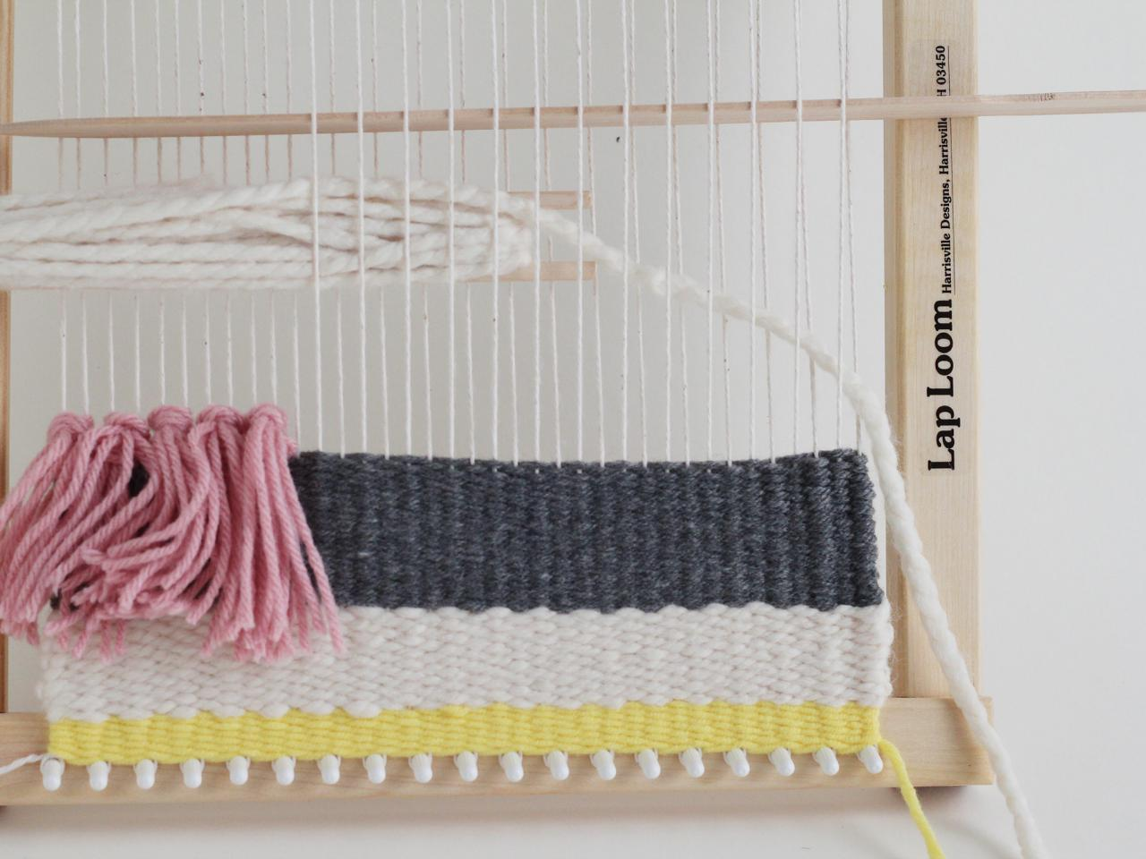 DIY Woven Wall Hanging   HGTV
