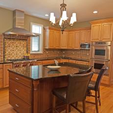 Traditional Kitchen Is Warm, Inviting