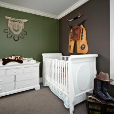 Baby Boy S Nursery Features Western Decor