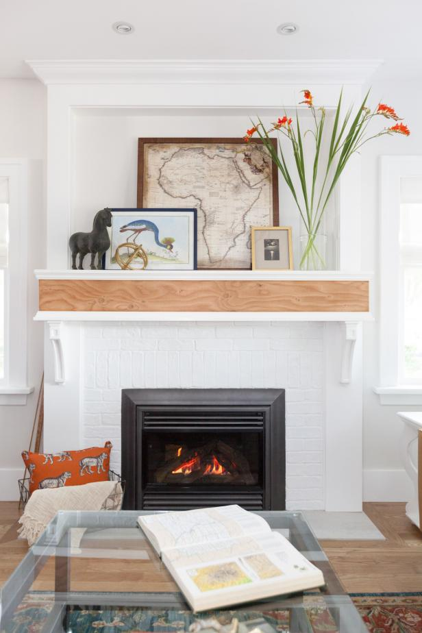 Fireplace is the Focal Point
