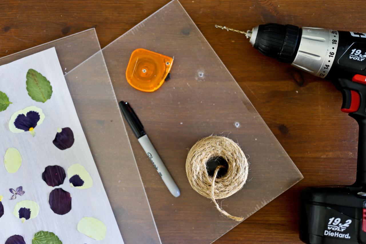 How To Make A Botanical Tray Hgtv