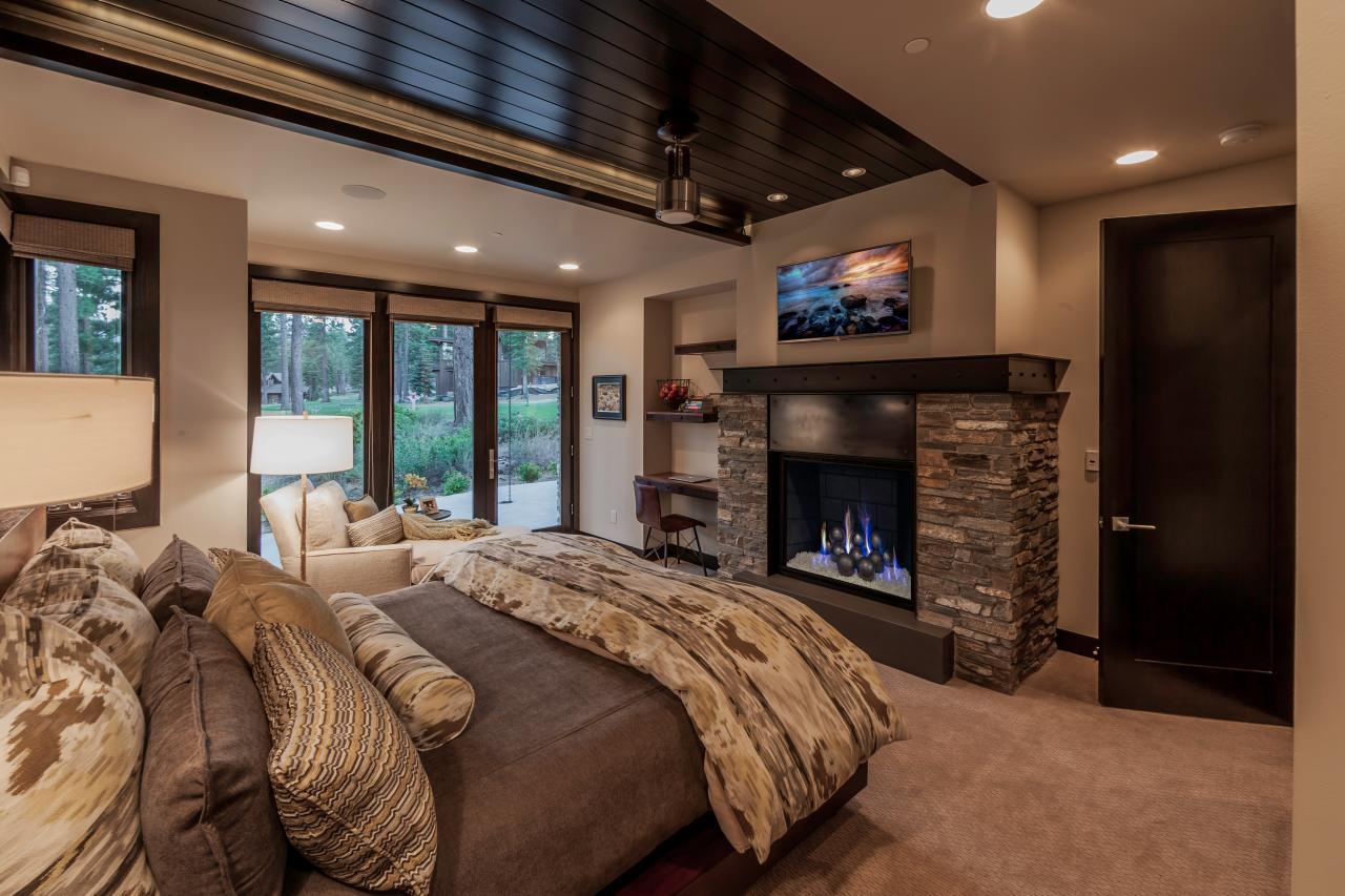 Modern Mountain Master Bedroom Hgtv