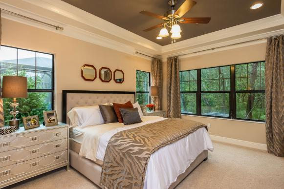 Eclectic Master Bedroom is a Calm Oasis