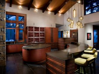 Contemporary Kitchen Is Striking, Functional