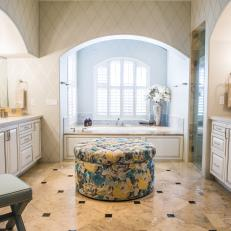 Light-Filled Master Bathroom Is Spacious, Elegant