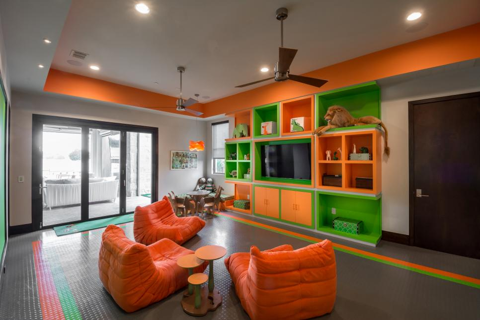 Bright Contemporary Playroom