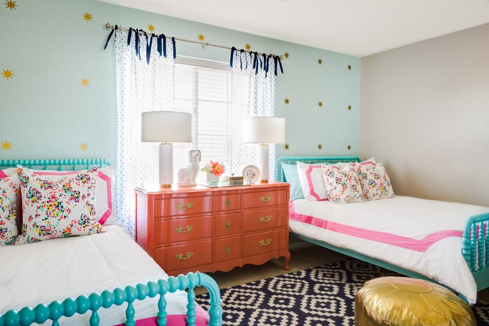 Shared Kids' Room Design Ideas HGTV Simple Boy And Girl Shared Bedroom Ideas