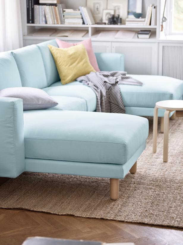 5 Apartment Sized Sofas That Are Lifesavers HGTVs Decorating