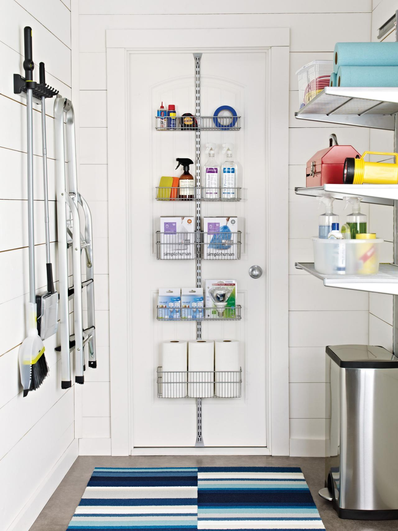 10 clever storage ideas for your tiny laundry room hgtv Store room design ideas