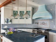 Kitchen: Cape Cod Estate on Buzzards Bay in Dartmouth, Mass.