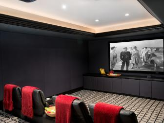 Home Theater: Grand Manor in Greenwich, Conn.