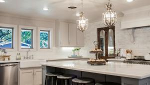 Fixer Upper: Elegant French Country Style Kitchen