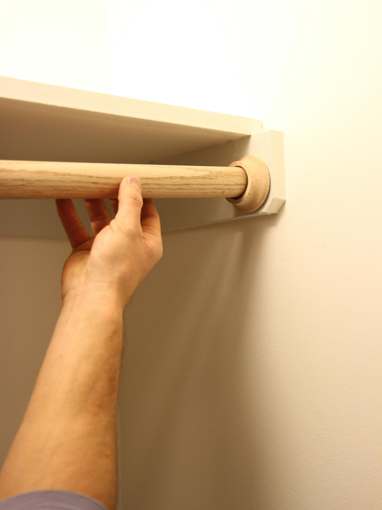 Charmant DIY Closet Rod