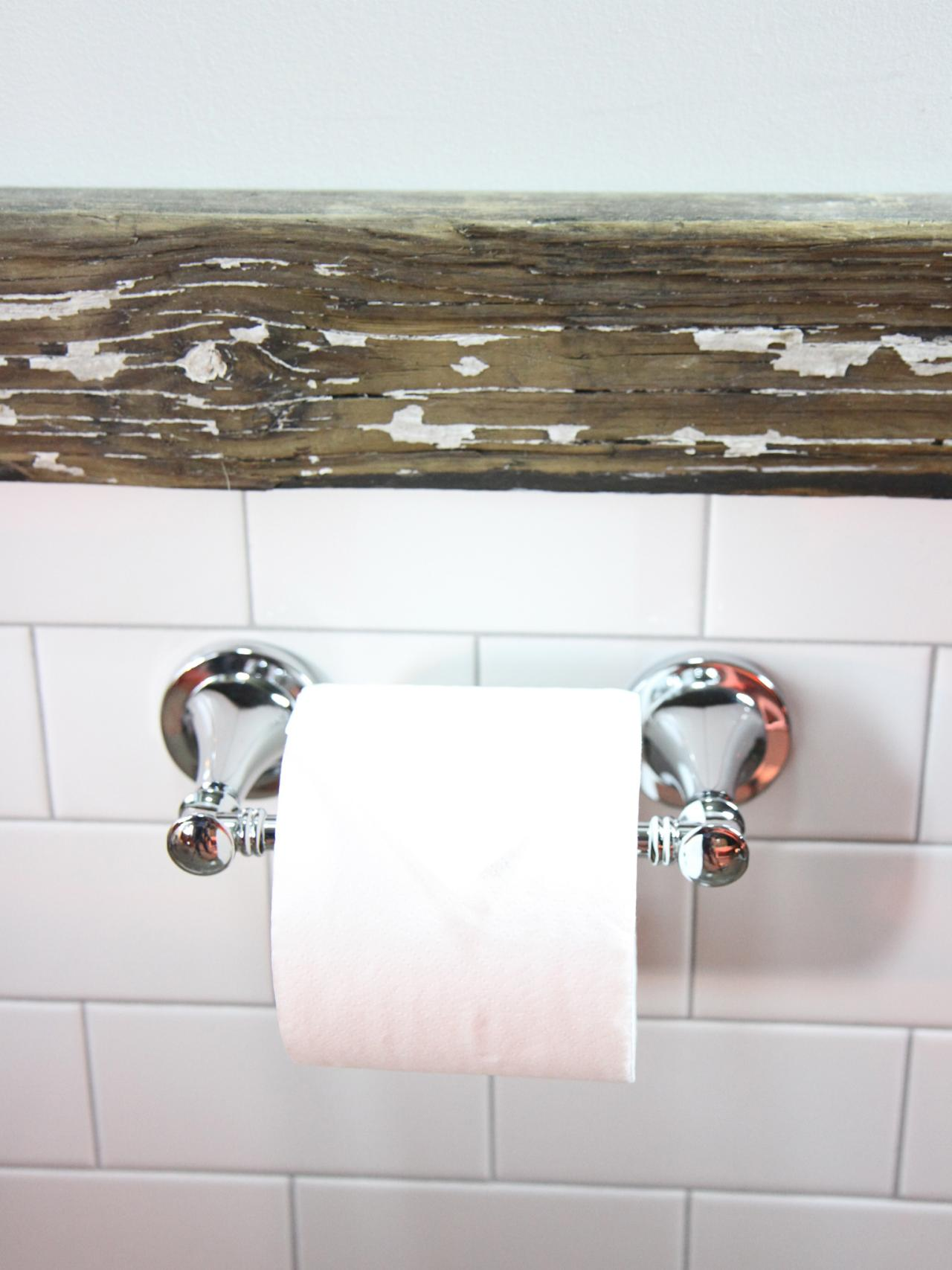 How to Install a Toilet Paper Holder | how-tos | DIY
