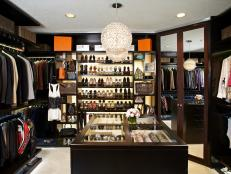 Luxe Closet Features Masculine, Feminine Touches