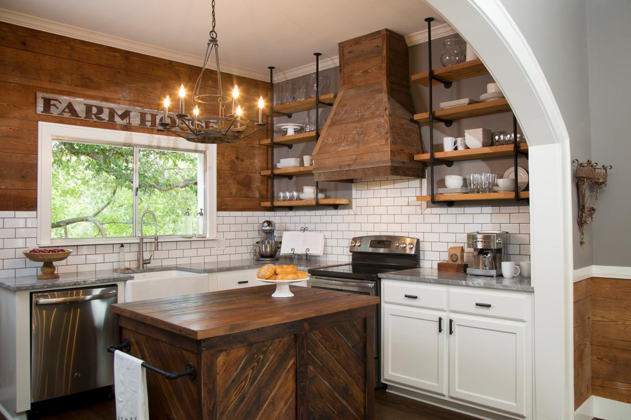 the benefits of open shelving in the kitchen | hgtv's