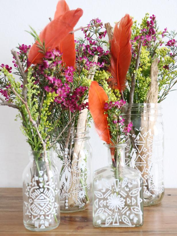 Bohemian-Inspired Vases and Jars
