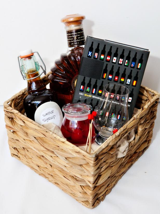 Specialty Cocktails Gift Basket