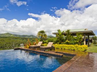 Infinity Pool in Private Hawaiian Enclave
