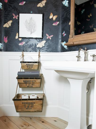 Clever Bathroom Storage Solutions