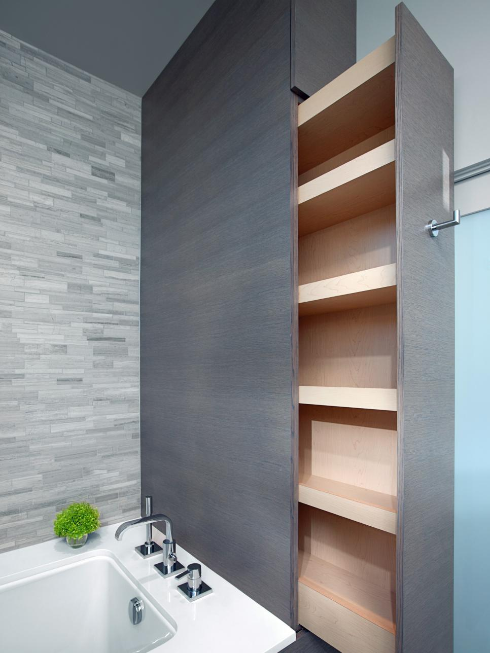 storage bathroom ideas 15 smart bath storage ideas hgtv 5231