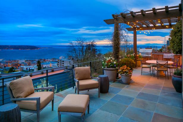Patio: Extraordinary Queen Anne Home in Seattle