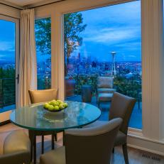 Breakfast Room With View: Extraordinary Queen Anne Home in Seattle