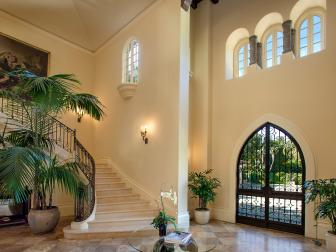 Grand Entry Foyer Boasts Sweeping Staircase