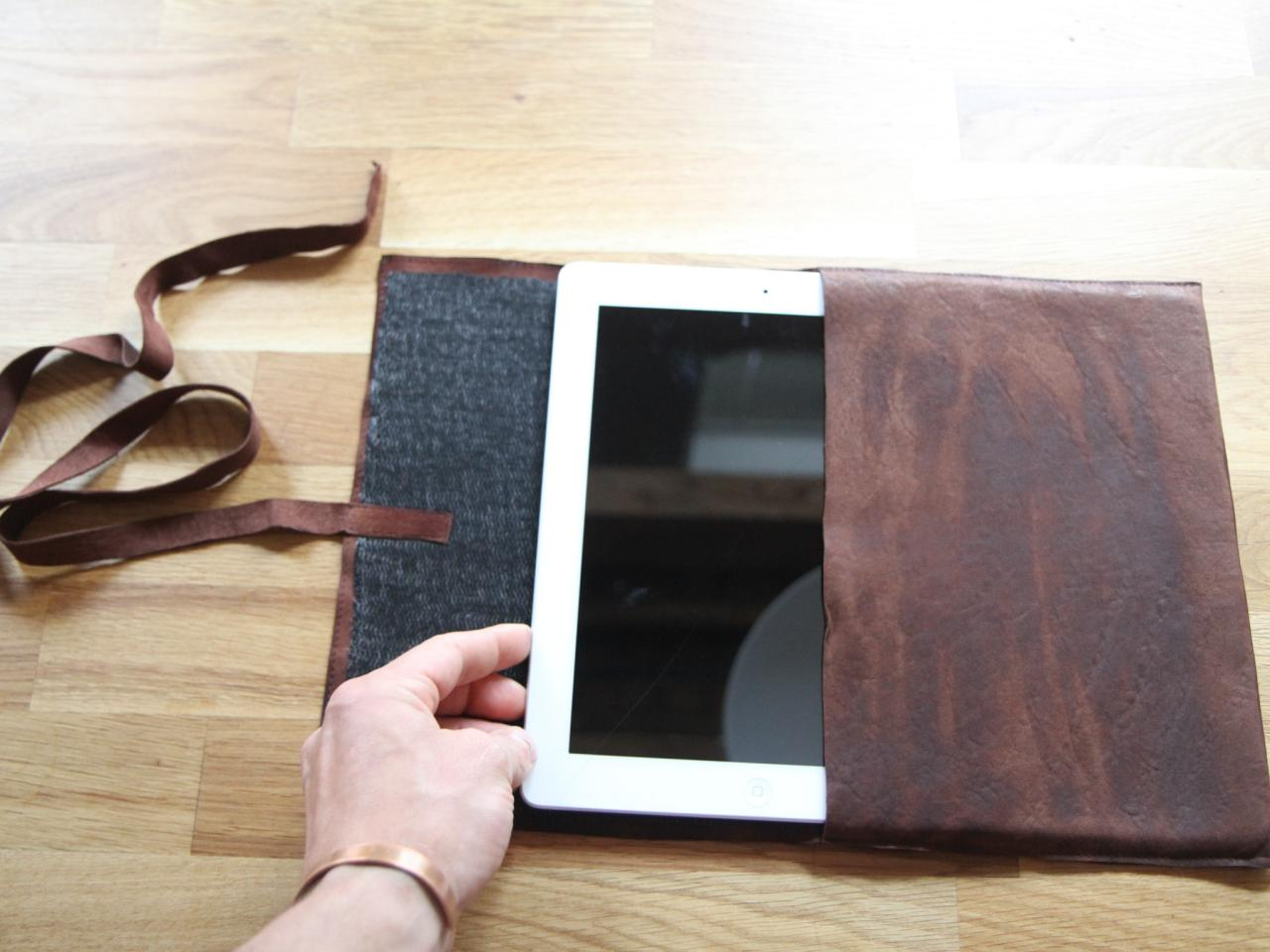 How To Make A Leather Tablet Case Danmade Watch Dan