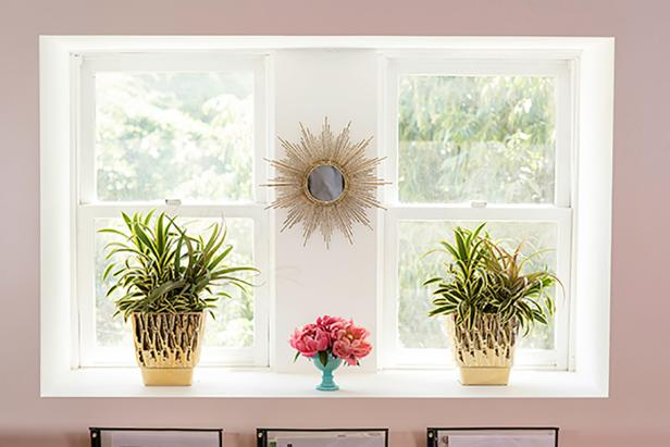 Plants Accentuate Window Sill