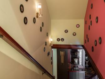 Stairwell Features Small Paintings of Eyes in Whimsical Art Installation