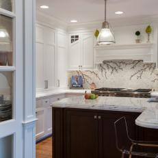Eat-In Kitchen With Ample Cabinet Space & Large Island