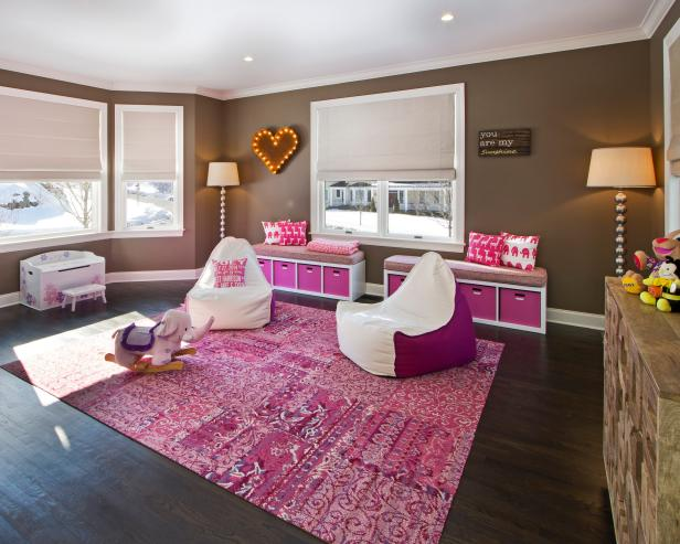 Contemporary Girl's Playroom