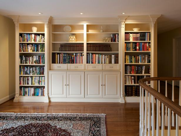 Organizing books and magazines hgtv - How to design a home ...