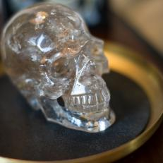 Crystal Skull Accessory Adds Whimsy to Traditional Space