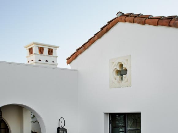 Spanish Revival Roofline