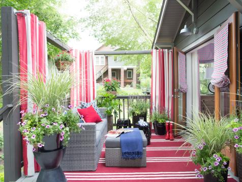Deck From HGTV Urban Oasis 2015