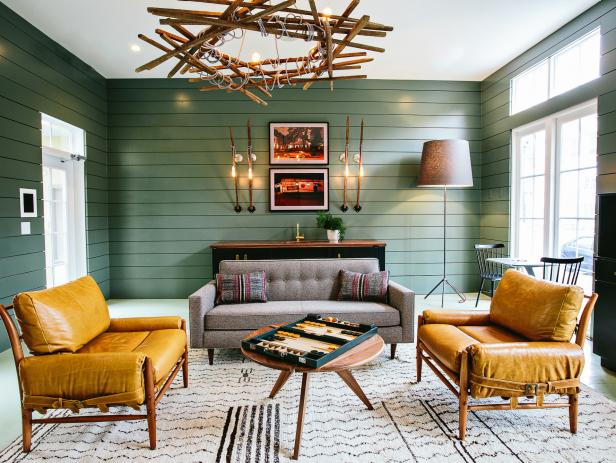 Green Living Room Ideas & Decorating | HGTV