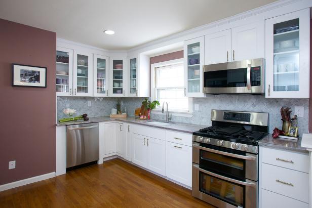Dazzling Kitchen Makeover With Stylish Details | HGTV