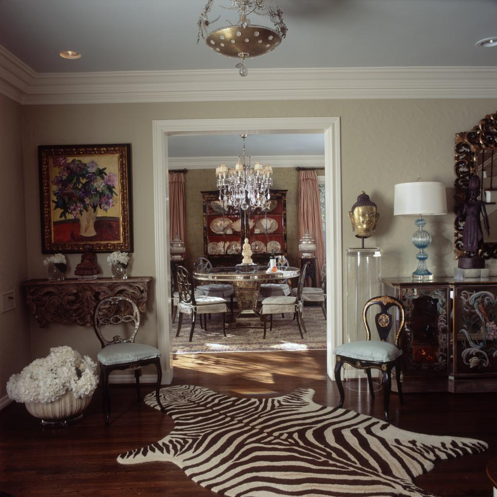 Traditional Sophisticated Foyer