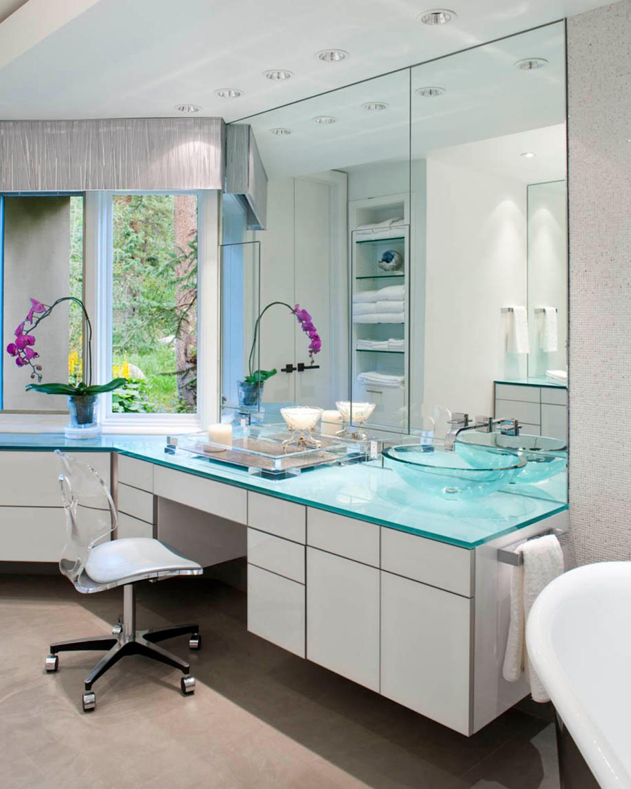 Midcentury Modern Master Bathroom