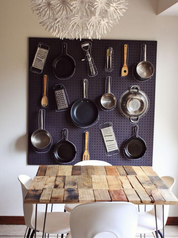 fascinating Using Pegboard In Kitchen Part - 3: Shop This Look