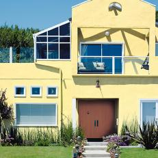 pleasurable exterior beach house colors. Yellow Beach House With White Trim Photos  HGTV