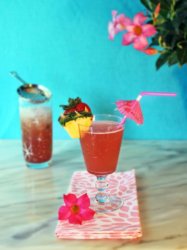 Pink Flamingo Cocktail
