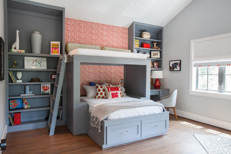 Design Ideas For Shared Kids Rooms HGTV Extraordinary Kids Bedroom Designs