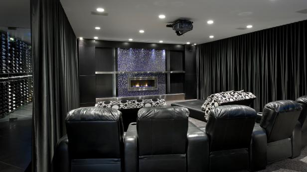 Black Home Theater