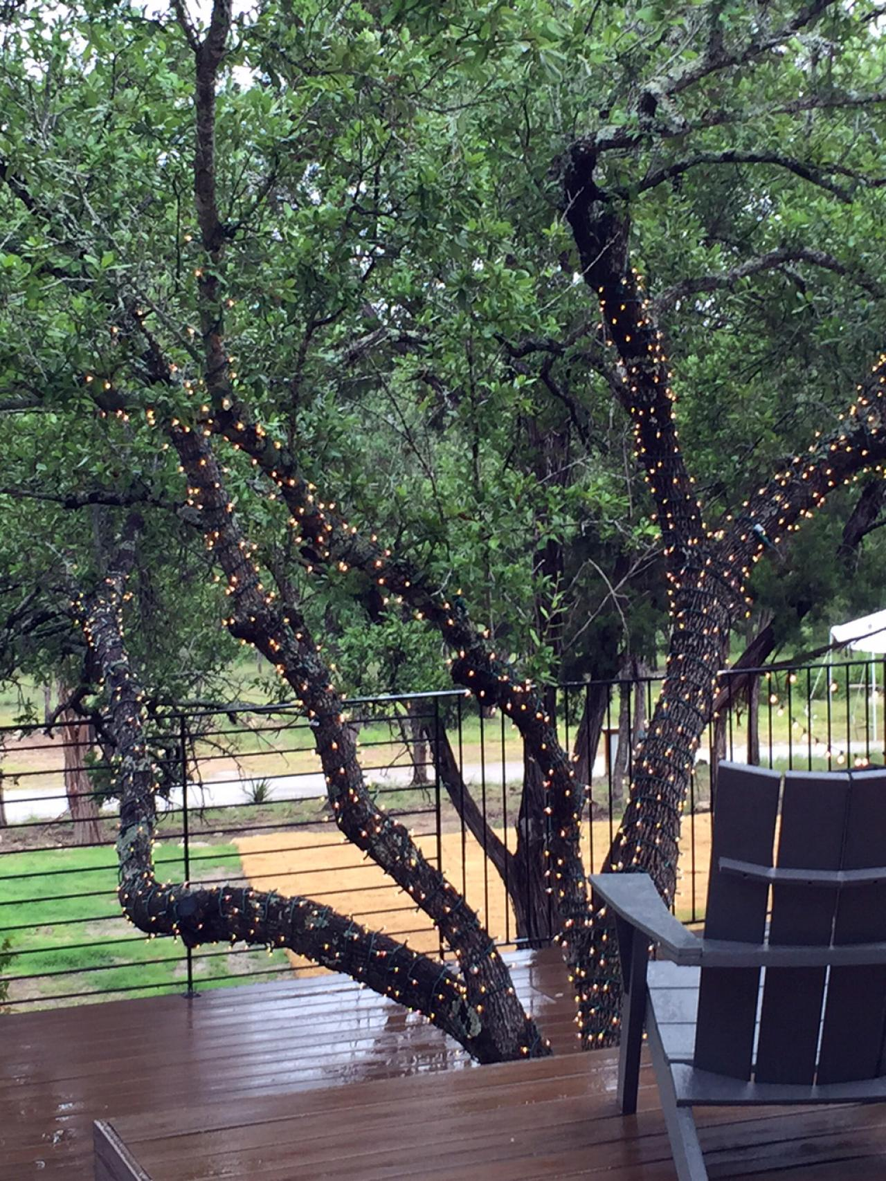 10 Ways to Amp Up Your Outdoor Space With String Lights ... - photo#44