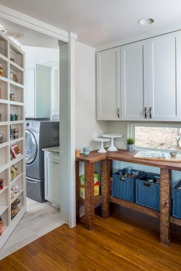 Diy Pantry Cabinet Small Spaces Food Storage