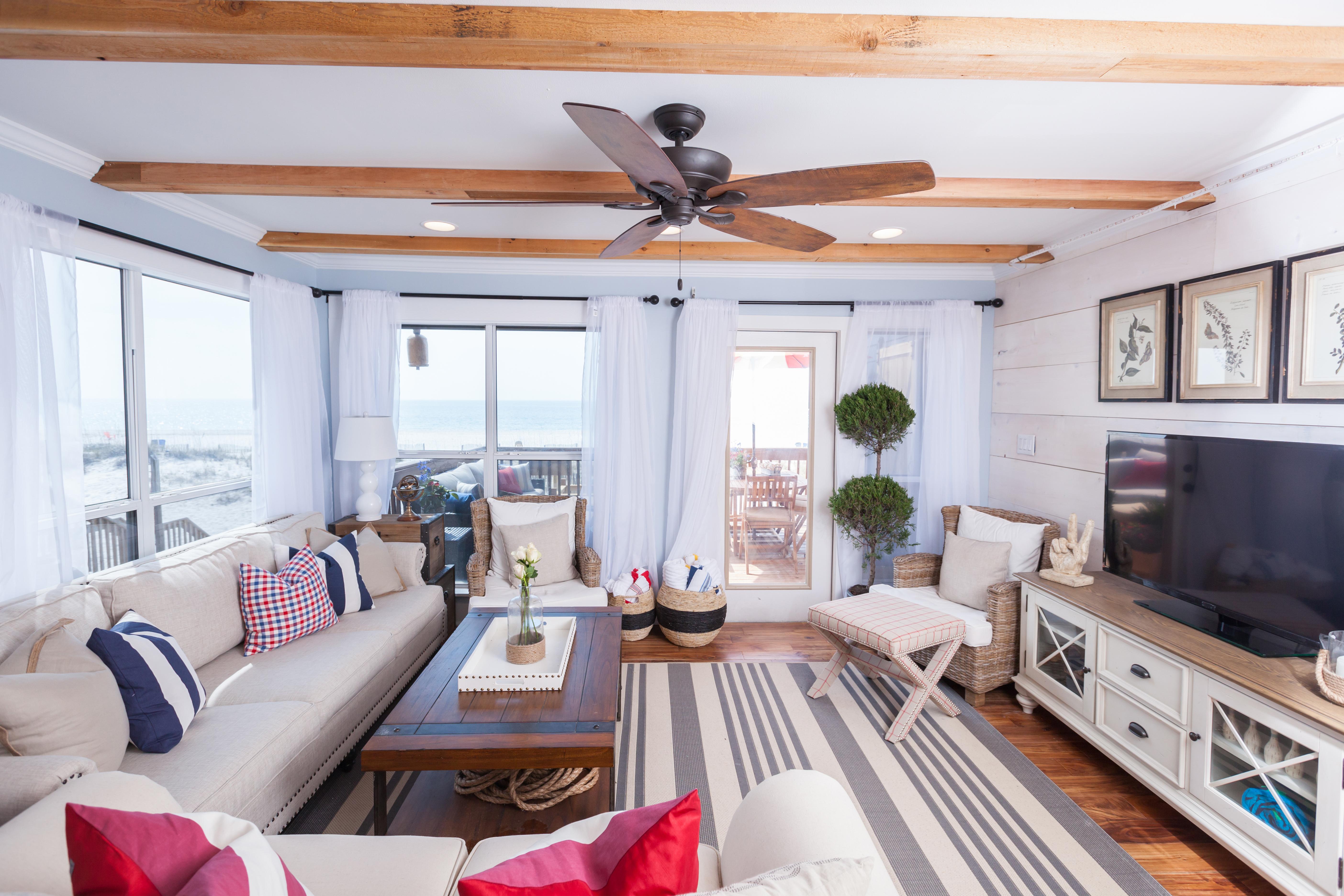6 Beach House Living Room Decorating Ideas   HGTV Design ...